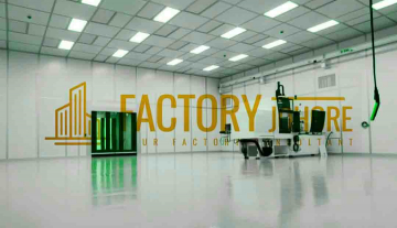 Senai Factory For Rent Clean Room with Aircon Production High Tension Power