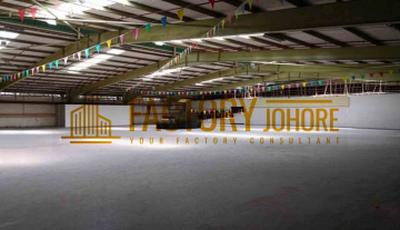 Desa Cemerlang Factory For Rent Big Production Area approx.85,000sqft