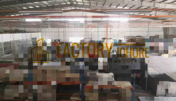 Desa Cemerlang Factory For Rent with Big Land Area 30,000sqft