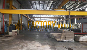 Johor Bahru Factory For Rent with Overhead Crane