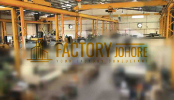 Johor Bahru Factory For Rent HT 2000ampere with overhead crane