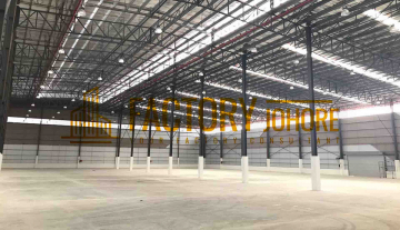 Johor Bahru Big Factory With Loading Bay For Rent