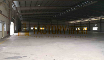 Johor Bahru Big Factory For Rent with 5 acres