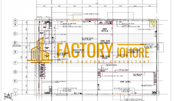 Johor Bahru Detached Factory For Rent with Mezzanine Office Floor