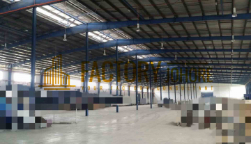 Johor Bahru Factory For Rent or Sale with 8 acres land