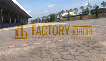 johor bahru big factory with high tension power supply