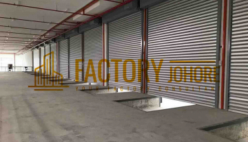 Johor Factory For Rent 15 min to Johor Seaport with many Loading Bay