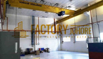 Johor Bahru Detached Factory with Power Supply 4000 ampere