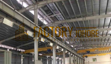 Johor Detached Factory For Rent with 200,000sqft