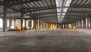 Johor Bahru Factory For Rent 5 minutes to seaport 1000ampere