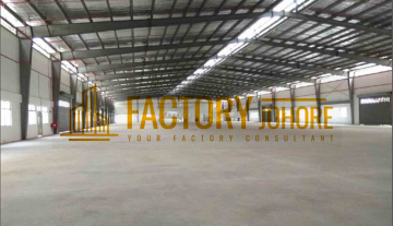 Nusa Cemerlang Factory For Rent 10 minutes to PTP Seaport