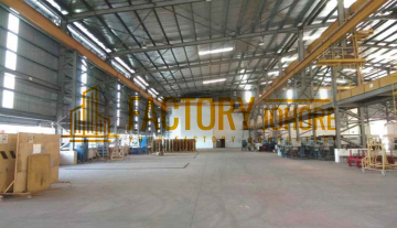 Nusajaya Factory For Rent with Overhead Crane