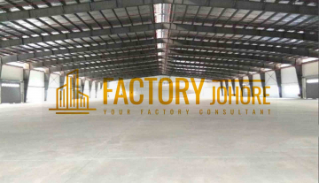 Nusajaya Factory For Rent Big Land Area 15minutes to seaport