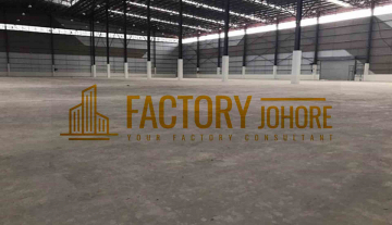 Nusajaya Factory For Rent with 10 Loading Bay Shipment For Import & Export