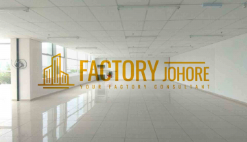Nusajaya Factory For Rent with Overhead Corbel-15minutes to Singapore