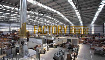 Nusajaya Factory For Rent with 100,000sqft