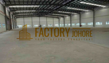 Nusajaya Factory For Rent with 12.5Ton Dock Leveler