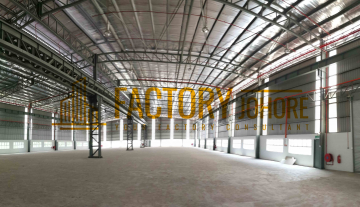 Nusajaya Factory For Rent Come with Overhead Corbel