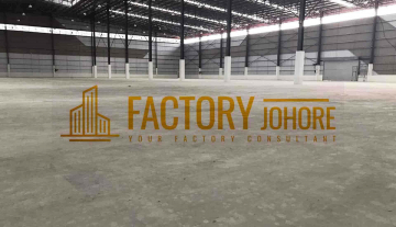 Nusajaya Big Factory For Rent Near to Singapore Tuas Link