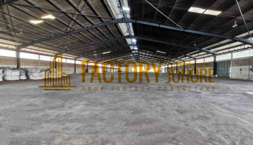 Pasir Gudang Factory For Rent Built Up Area 100,000sqft R170