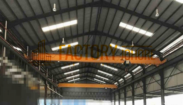 Pasir Gudang Big Detached Factory For Rent with Overhead Crane