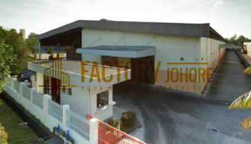 Pasir Gudang Factory For Rent Built Up 145,000sqft Big Warehouse