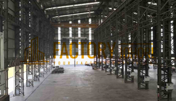 Pasir Gudang Factory For Rent with 25ton Overhead Crane