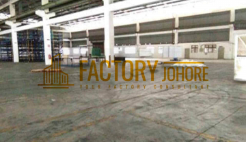 Pasir Gudang Factory For Rent Big Detached Factory