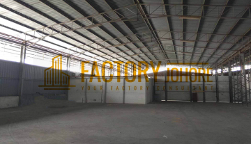 Senai Factory For Rent 47,00sqft Floor Loading 10KN/m2