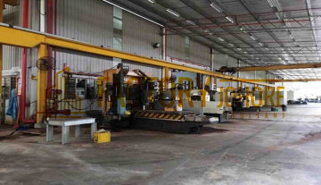 Senai Factory For Rent 4 Overhead Crane Floor Loading 50kn/m2