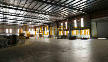 Senai Factory For Rent High Tension Power