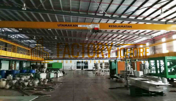 Senai Factory For Rent High Tension Power with Overhead Crane