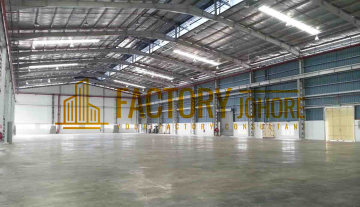 Senai Kulai Factory For Rent Built Up Area 40,000sqft R171