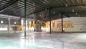 Tampoi Factory For Rent with Floor Loading 12.5kN/M2