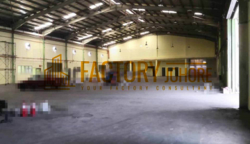 Tebrau Factory For Rent with Full Extension