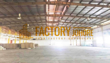 Tebrau Factory For Rent with 1000ampere