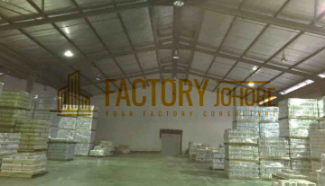Tebrau Factory For Rent Big Area 51,000sqft