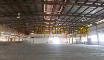 Tebrau Factory For Rent 81,000sqft with 9 Meter Factory Height