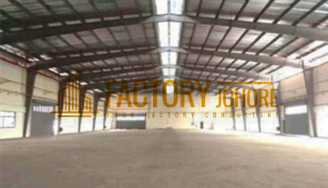 Ulu Tiram Factory For Rent High Tension Power