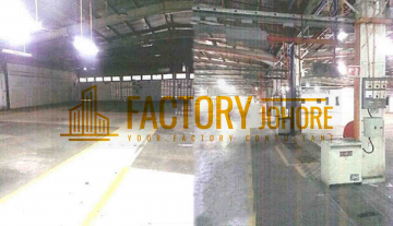 Ulu Tiram Detached Factory For Rent Power Supply 2000ampere