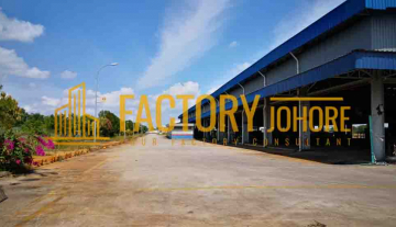 Johor Bahru Factory For Sale with Big Land Size 31acres Power Supply 5000ampere high tension