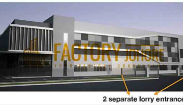 Desa Cemerlang Factory For Sale with 31,949sqft