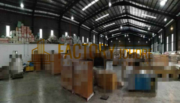 Johor Factory For Sale with Big Production Area