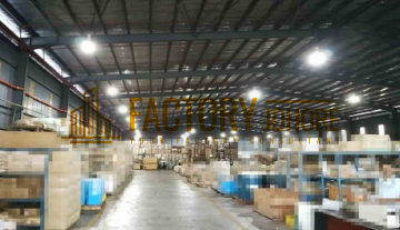 Johor Bahru Factory For Sale Big Land & Big Production Area 1000ampere