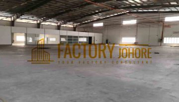 Johor Bahru Factory For Sale with Big Land Area 50,000sqft