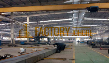 Johor Bahru Factory For Sale with 8 acres land area