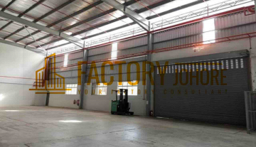 Johor Bahru Freehold Big Land Factory with substation