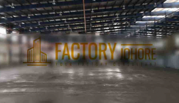 Johor Bahru Factory For Sale Big Land Area and High Tension Power Supply