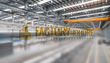 Johor Bahru Factory For Sale With Heavy Floor Loading 7 acres land size