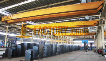 Johor Bahru Detached Factory For Sale with Overhead Crane 261,00sqft